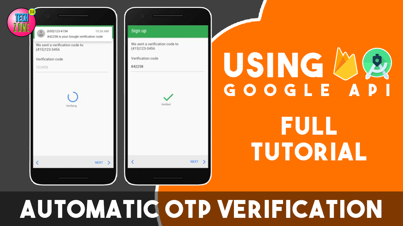 How to Integrate Automatically verify OTP system in Android App